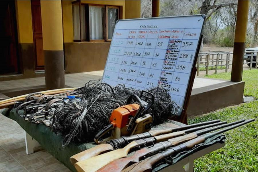 Três cidadãos implicados na caça furtiva em Inhambane