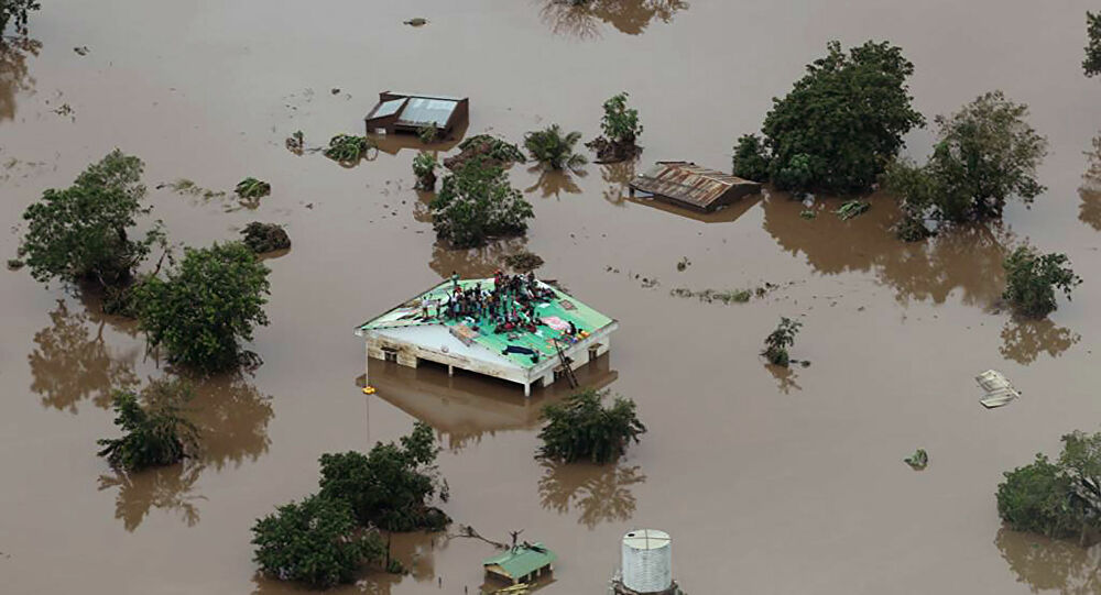 """PR alerta para possibilidade de formação de um """"grande ciclone"""" no canal de Moçambique"""