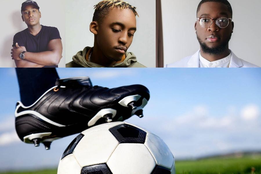 Jogo de futebol entre artistas