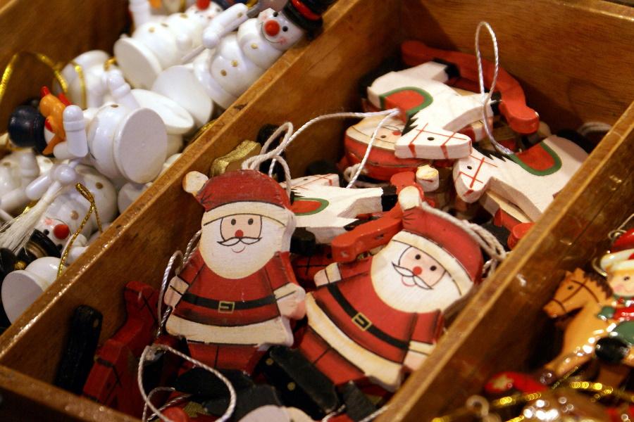 Elfos e artesãos de Natal