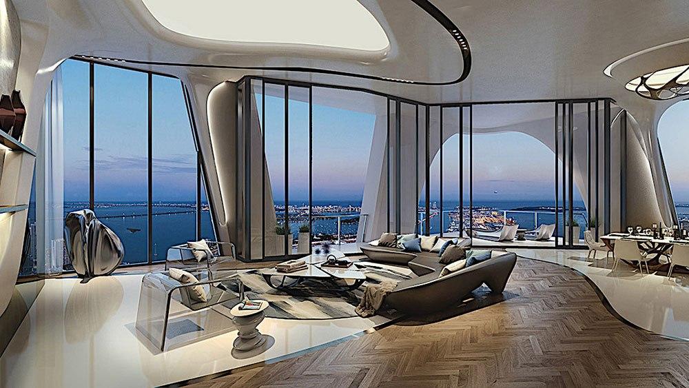 Família Beckham compra apartamento em Miami num arranha-céus desenhado por Zaha Hadid