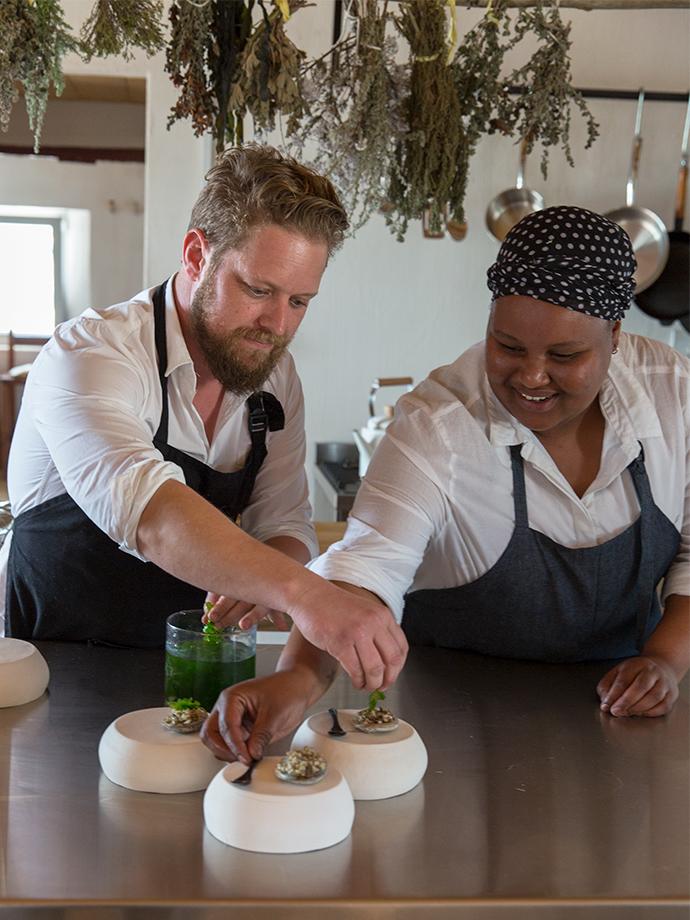 Melhor restaurante do mundo está numa praia da África do Sul
