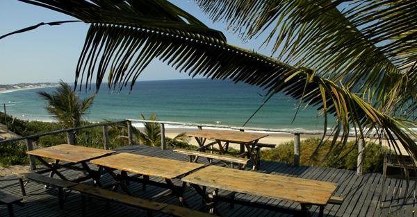 Baía dos Cocos em Inhambane