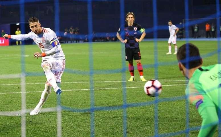 Ramos já soma 18 penaltis convertidos