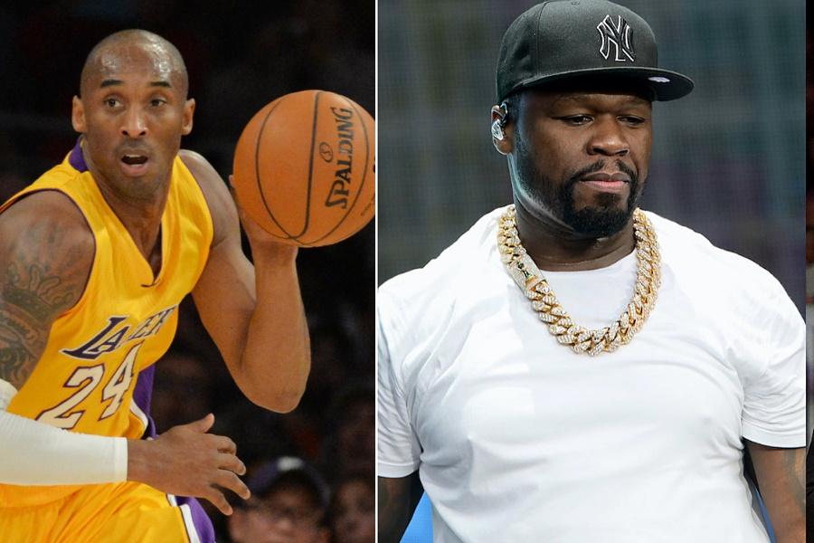 50 Cent pede demissão de jornalista que usou termo racista contra Kobe Bryant