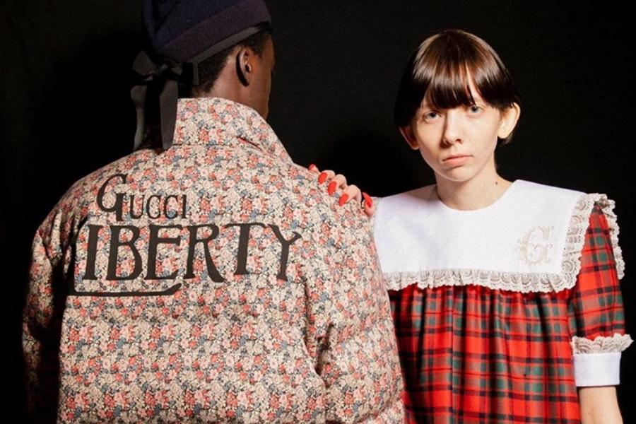 Moda masculina, Gucci adiciona um toque activista à sua moda glamorosa