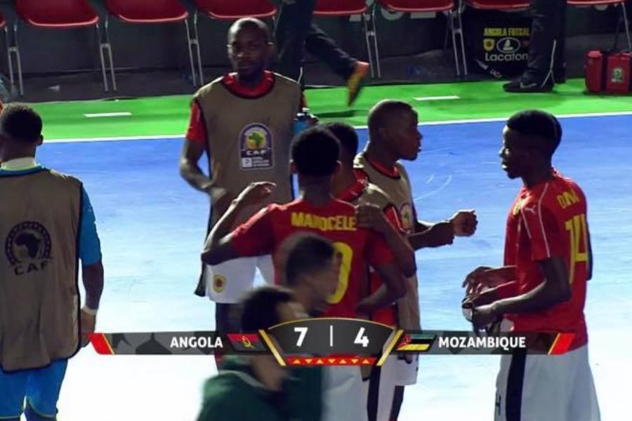 """Moçambique """"qualquerizado"""" no Can em Futsal"""