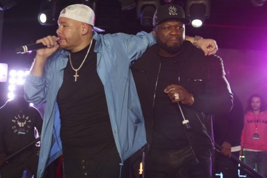 """Finalmente!  Fat Joe e 50 Cent põem fim a """"guerra"""" e dividem palco"""