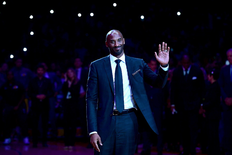 """Kobe Bryant: Deixa """"550 milhões"""" de euros de herança"""
