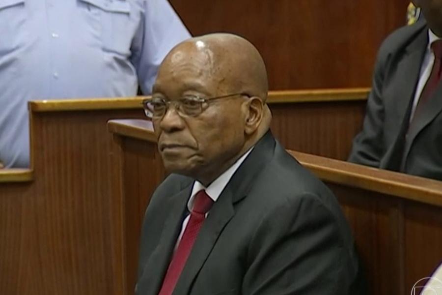"Jacob Zuma ""tramado"""