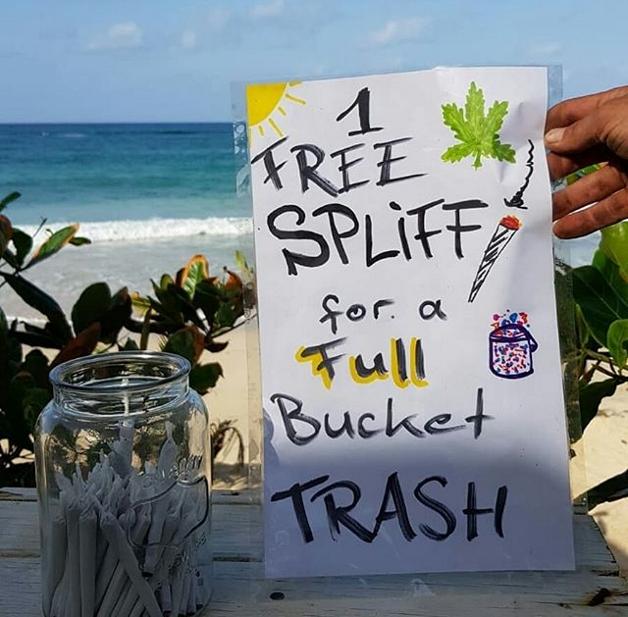 Jamaica: hotel oferece soruma em troca de lixo recolhido