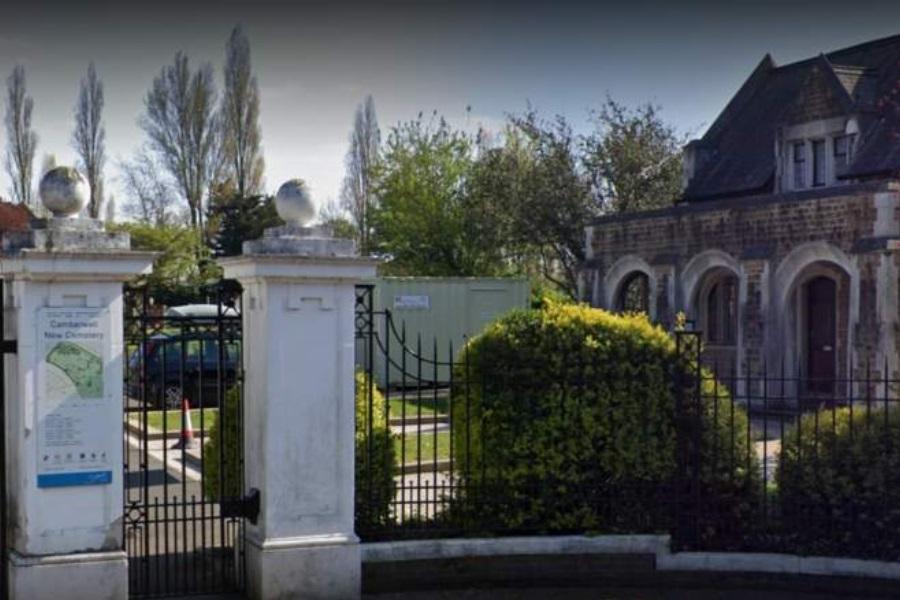 Cemitérios de Southwark  restritos apenas aos enlutados