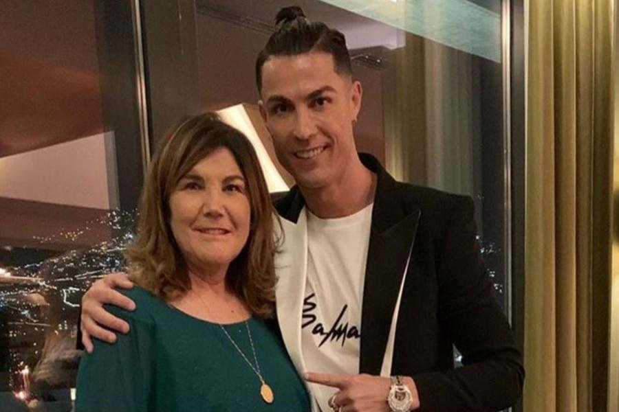 Mãe de Cristiano Ronaldo sofre de AVC