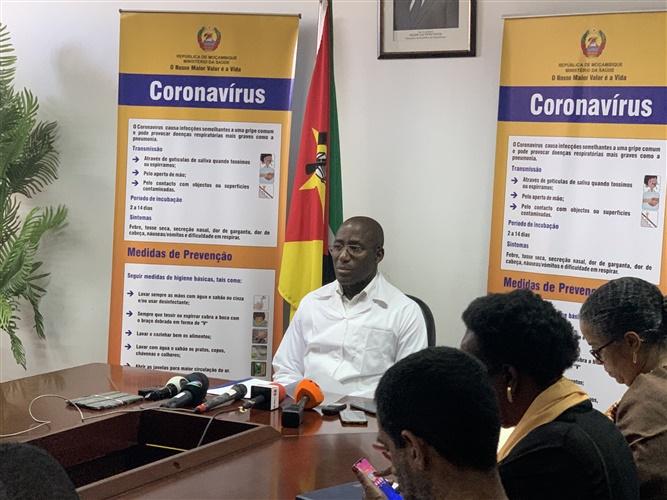 Moçambique com um caso positivo de Covid-19
