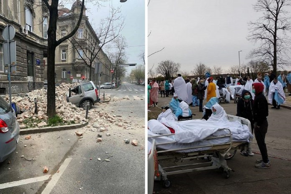 Croácia: terremoto de magnitude 5,3 destrói a capital