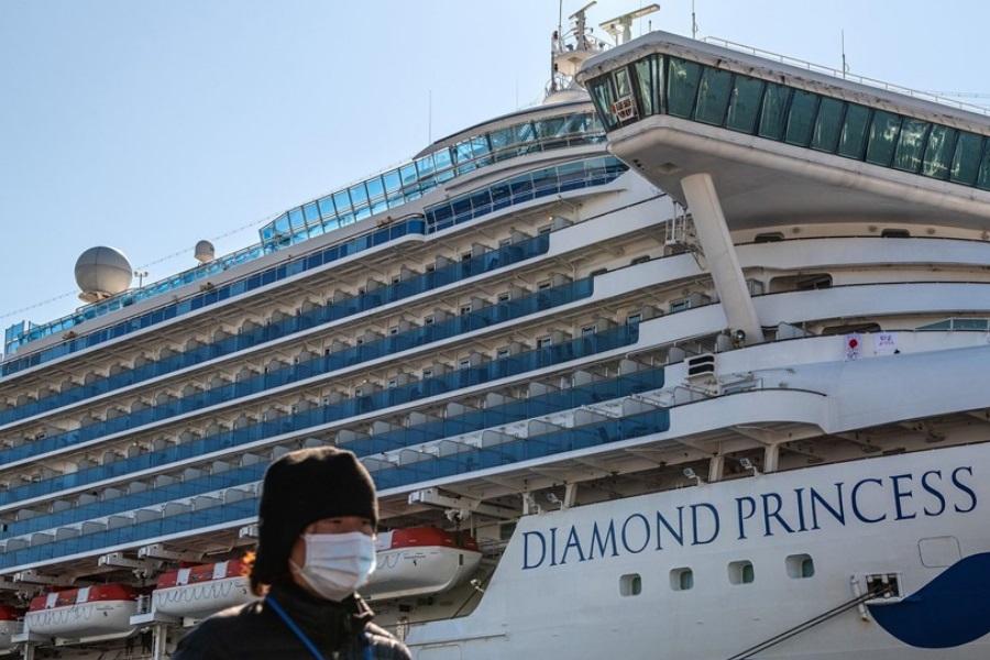 Coronavírus sobrevive por 17 dias em navio em quarentena