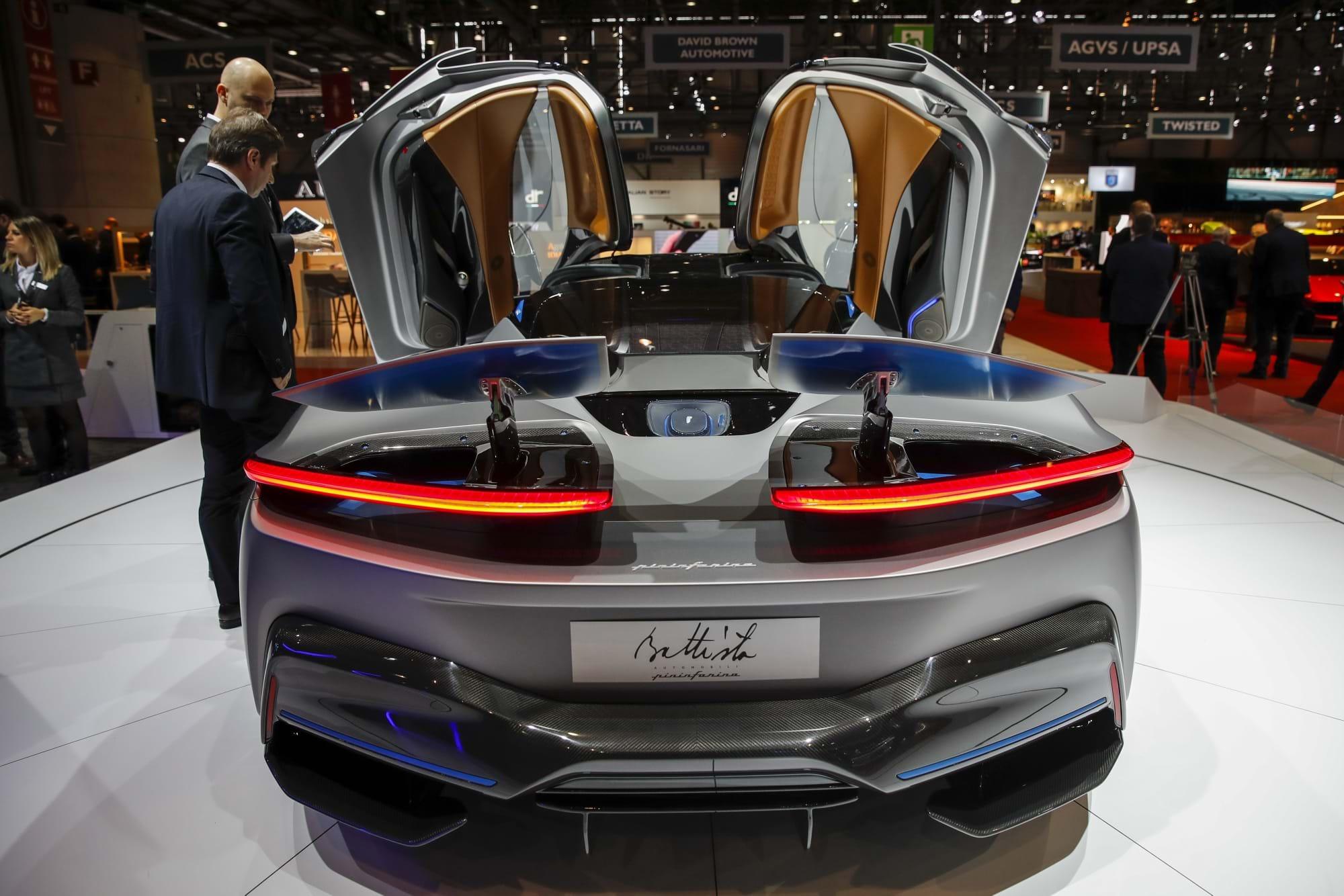 Os super-carros mais espectaculares do Salão de Genebra 2019