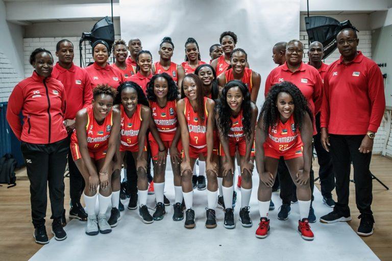 Basquetebol: selecção nacional em femininos – terceira melhor de África