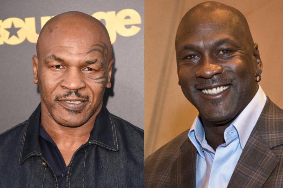 """A noite em que Mike Tyson ameaçou bater em Michael Jordan: """"Achas que sou estúpido?"""""""