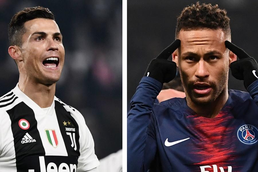 Juventus quer juntar Neymar a Cristiano Ronaldo