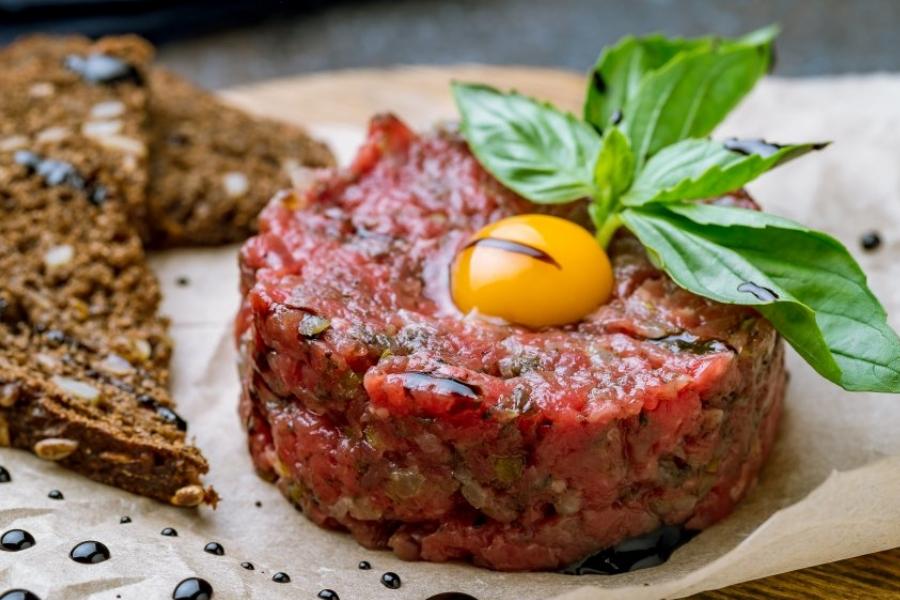 Vamos cozinhar: Tartar de carne