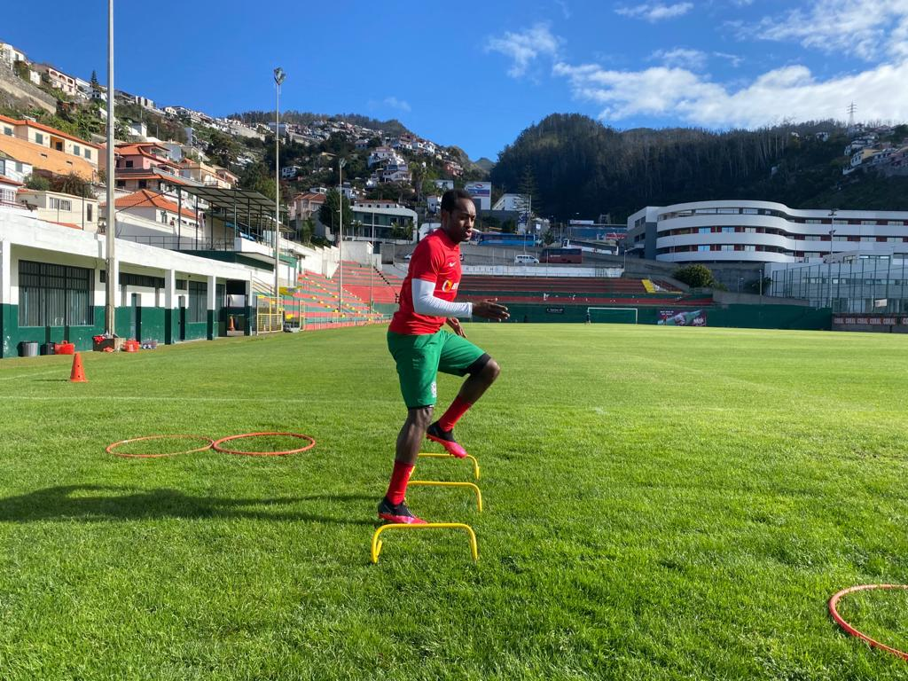 Liga NOS: Zainadine Junior volta a treinar