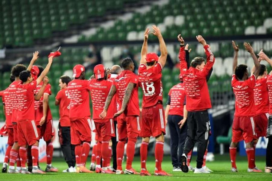 Bayern campeão alemão pela oitava vez concecutiva