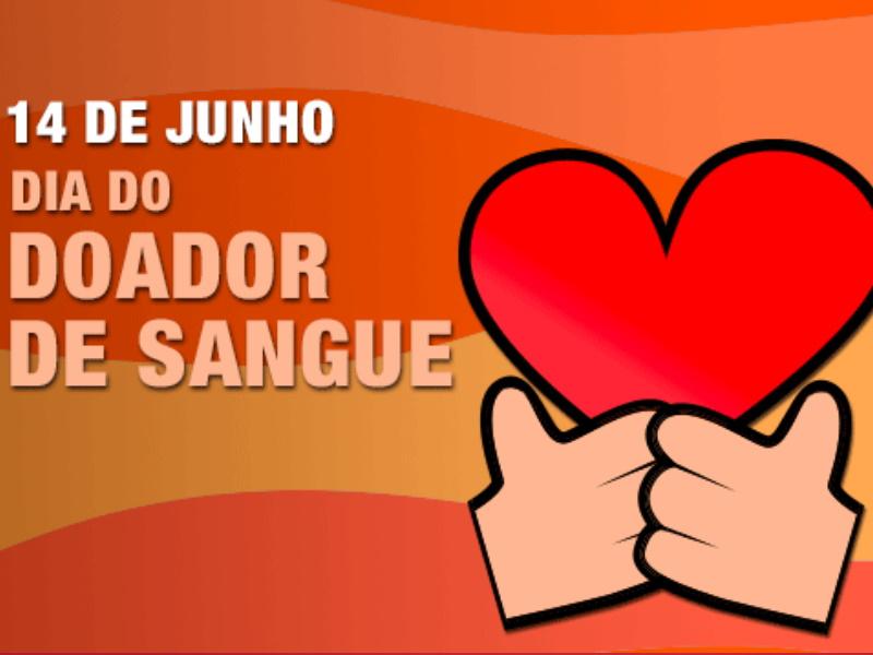 Sabia que a 14 de Junho comemora-se o dia mundial do doador de sangue?