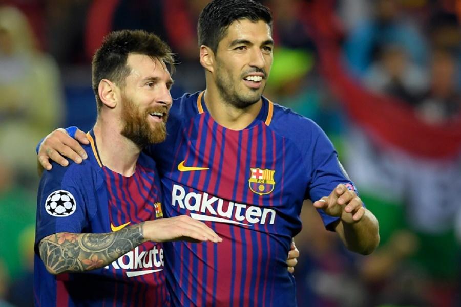 Setién revela estado de Messi e Suárez