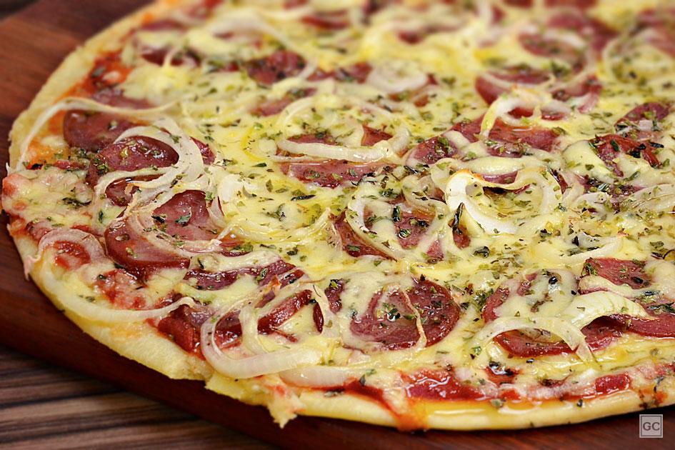 Pizza de Liquidificador: Fácil rápida e acessível