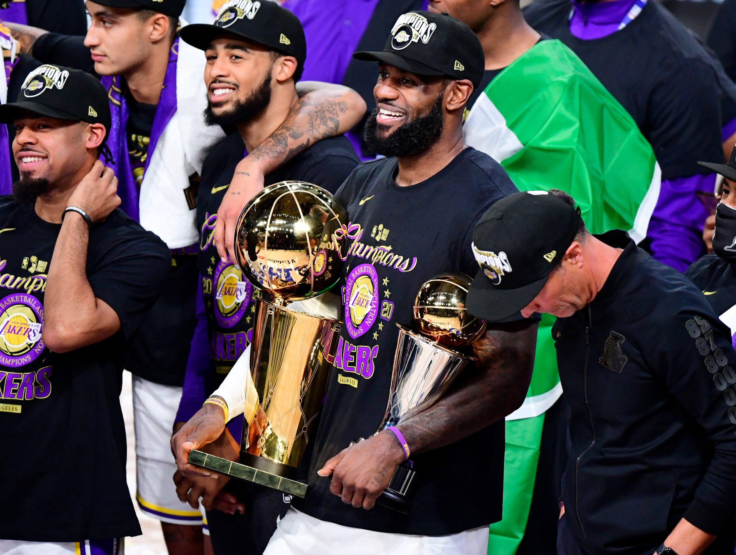"""Os Lakers são os """"novos"""" donos da NBA"""