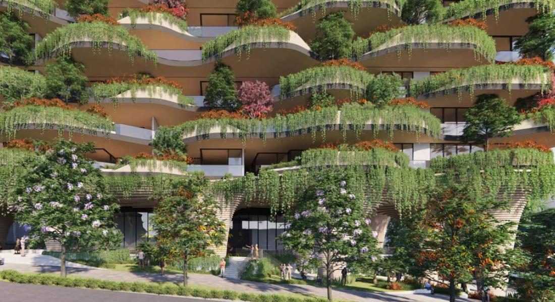 O edifício residencial mais verde do mundo