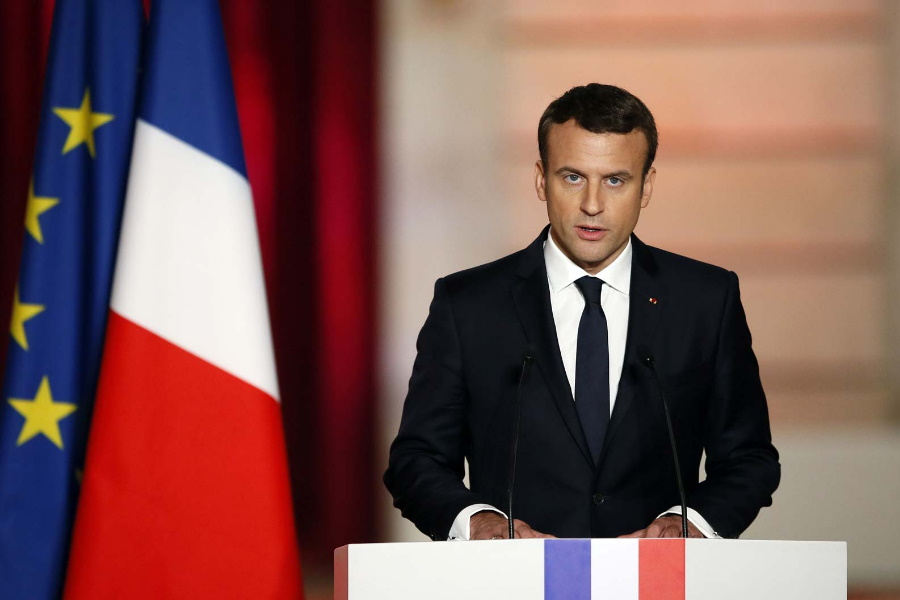 Covid-19: Macron anuncia novo confinamento na França