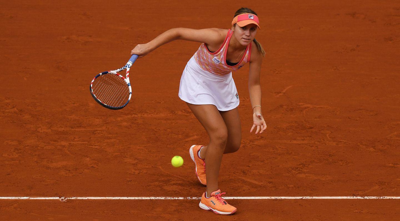 Sofia Kenin está nos quartos de final do torneio de Roland Garros