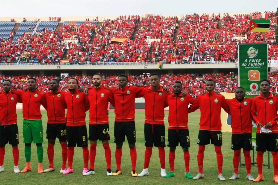 Mambas perdem jogo amigável com Portugal