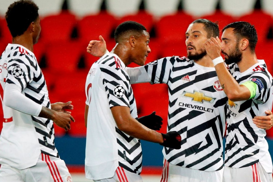 Man United vence no parque dos príncipes