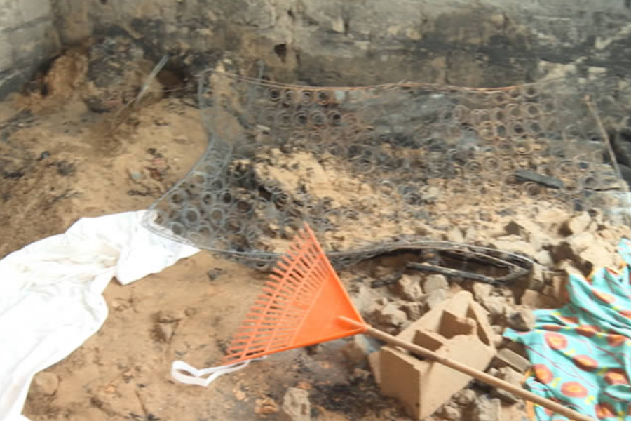 Crianças morrem num incêndio em Marracuene