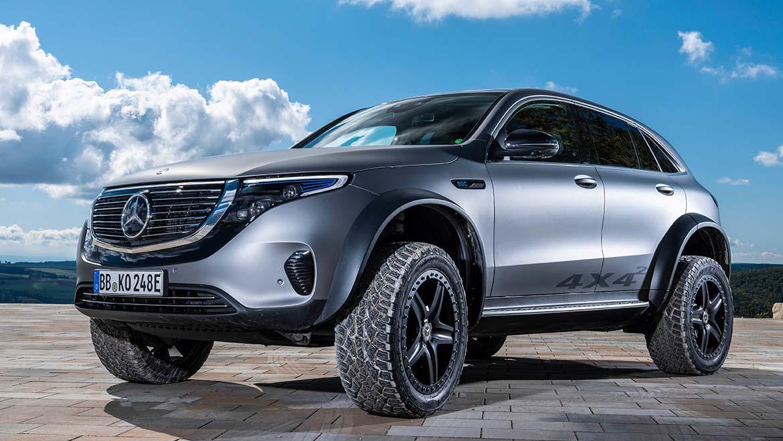 Mercedes-Benz EQC 4×4² para os mais aventureiros