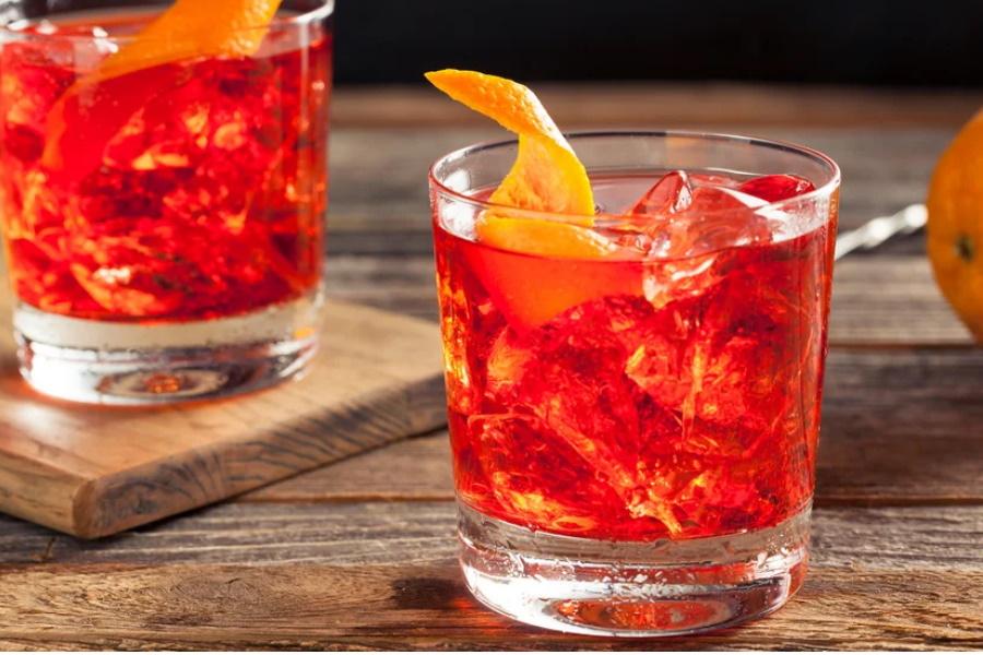 Negroni clássico- Uma bebida refrescante