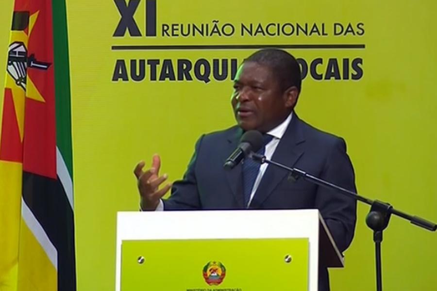 Nyusi defende inclusão para o desenvolvimento das autarquias locais