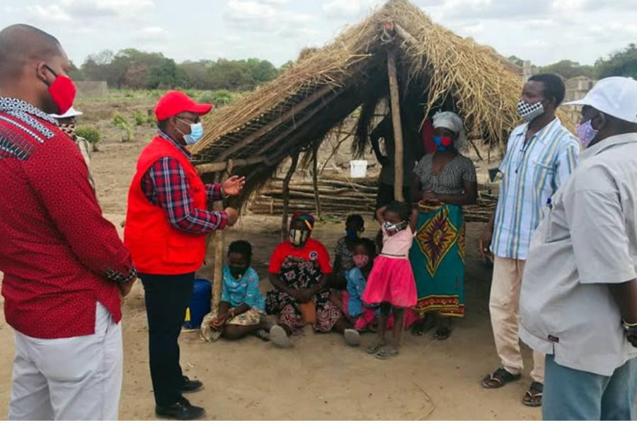 Famílias deslocadas de Cabo Delgado recomeçam a vida na Zambézia