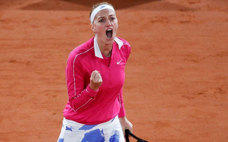 Petra Kvitova, semifinalista de Roland Garros em 2012, já está nos quartos de final