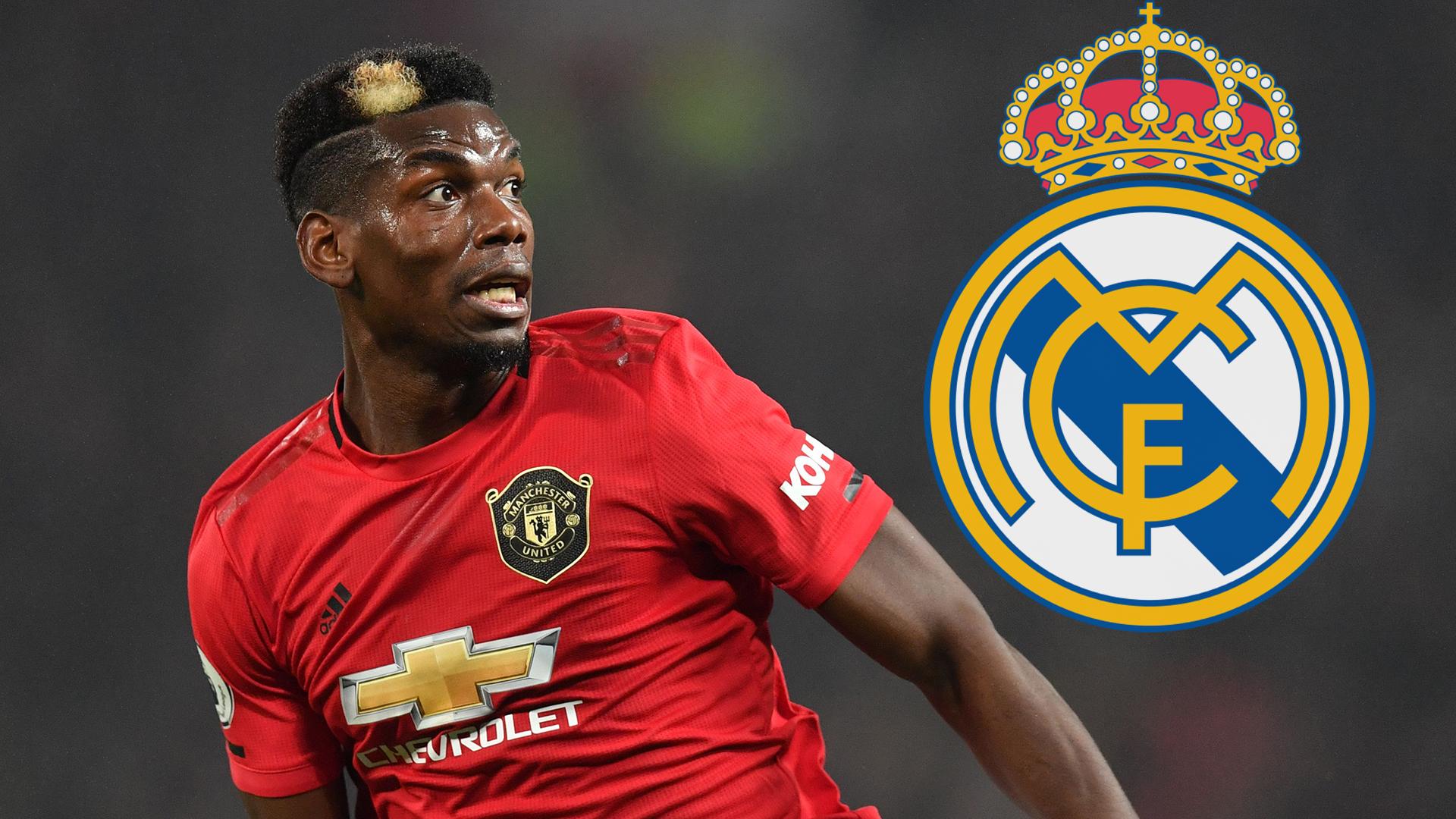 Pogba admitiu que seria um sonho jogar no Real Madrid