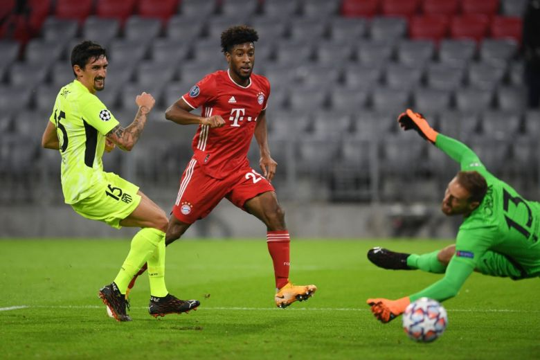 Bayern massacra o Atlético de Madrid