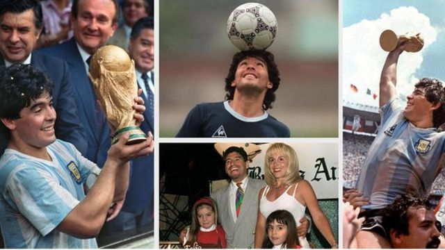 A extraordinária vida do jogador argentino em imagens: Diego Maradona