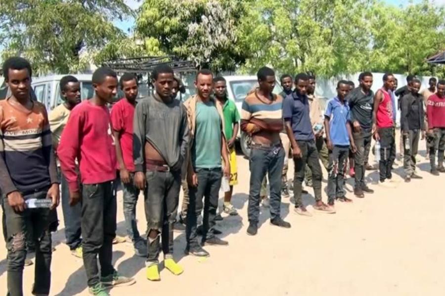 Etíopes detidos em Tete por migração ilegal
