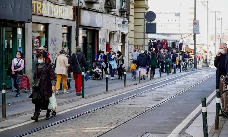 Itália decreta recolher obrigatório para conter propagação da COVID-19