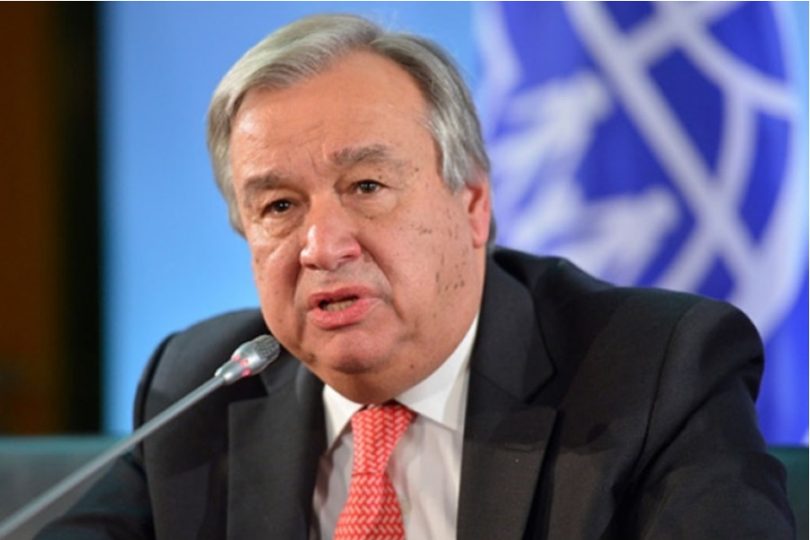 Secretário-geral da ONU apela a luta global contra o ódio