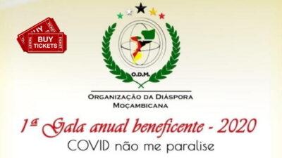 """1ª Gala Beneficente da ODM – """"COVID, não me paralise"""""""