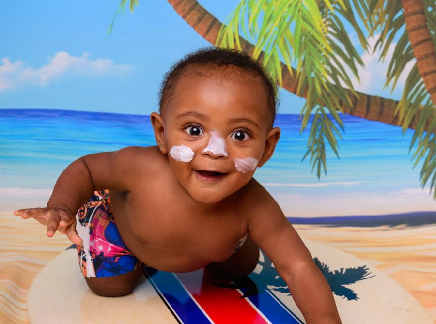 6 cuidados  com os bebés na praia